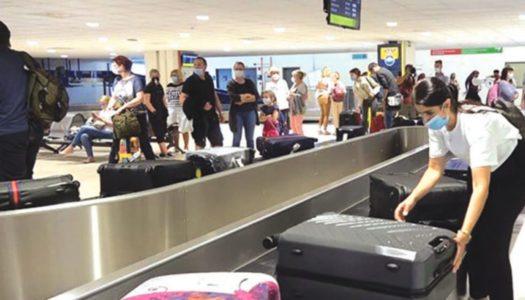 «Απογειώνονται» σε κίνηση τα αεροδρόμια του Ν. Αιγαίου   31 Ιουλίου 2021: Μύκονος, Σαντορίνη, Κάρπαθος ξεπέρασαν το σύνολο των αφίξεων του 2020
