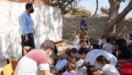 ΑΝ.ΔΩ: Πραγματοποίηση δράσης για τη Διεθνή Ημέρα Ειρήνης στο «Νησί Ειρήνης και Φιλίας των Νέων»