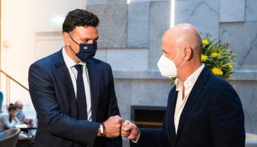 Συνάντηση εργασίας Υπουργού Τουρισμού Βασίλη Κικίλια με τον Σύνδεσμο Ελληνικών Τουριστικών Επιχειρήσεων
