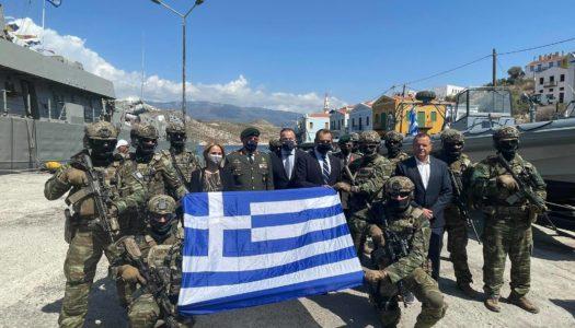 Ιωάννης Παππάς: «Το Αιγαίο είναι η κοιτίδα του Ελληνισμού και το Καστελλόριζο η καρδιά του»