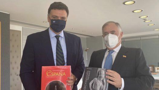 Συνάντηση του Υπουργού Τουρισμού Βασίλη Κικίλια με τον Πρέσβη της ΙσπανίαςEnrique Viguera