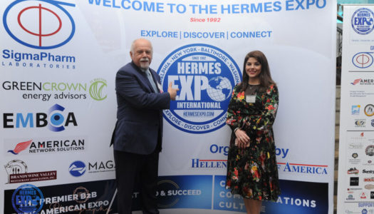 Paul Kotrotsios Talks About The 30th Annual Hermes Expo At The Grand Marquis In New Jersey